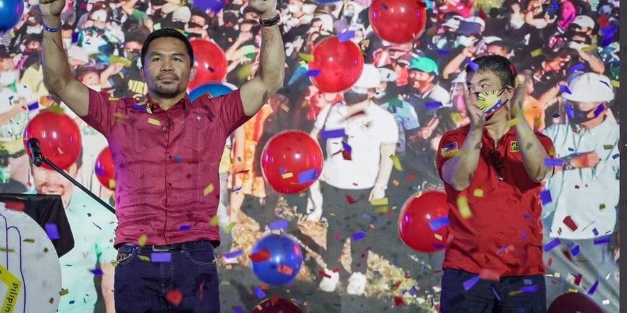 Resmi Jadi Kandidat Presiden Filipina, Manny Pacquiao Janji Bikin KO Koruptor