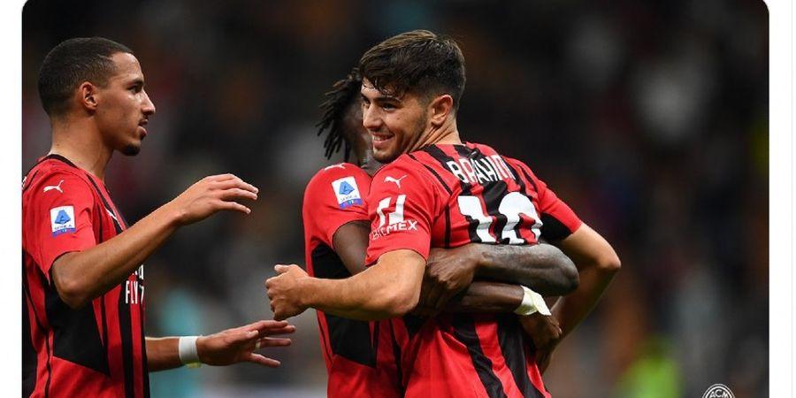Hasil Liga Italia - Aksi Para Pemain Pengganti Bantu AC Milan Raup Tiga Poin