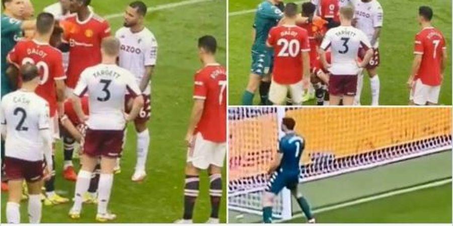 MU Disikat Aston Villa, Cristiano Ronaldo Kehilangan Catatan Rekornya