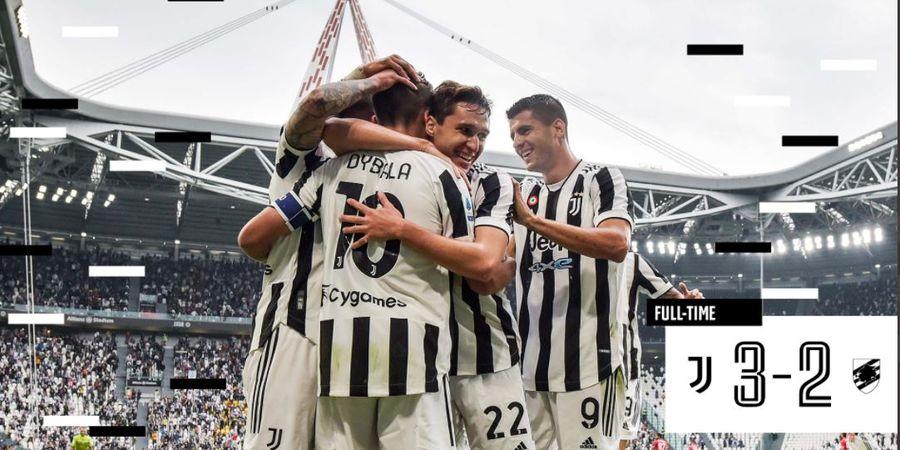Hasil Liga Italia - Dybala Jadi Tumbal, Juventus Menang Tipis atas Sampdoria