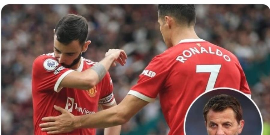 Bruno Fernandes Gagal Eksekusi Penalti, Eks Pelatih Aston Villa Salahkan Cristiano Ronaldo