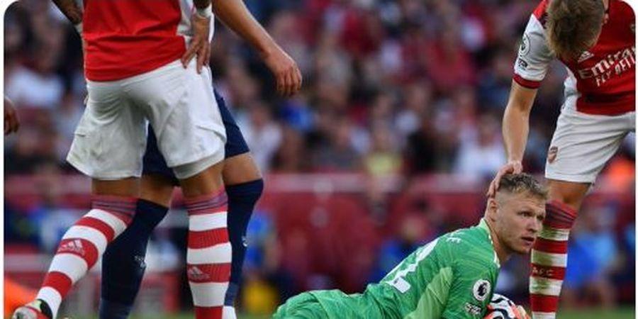 Alami Kram Betis Selama 20 Menit, Kiper Arsenal Malah Lakukan Dua Penyelamatan Hebat