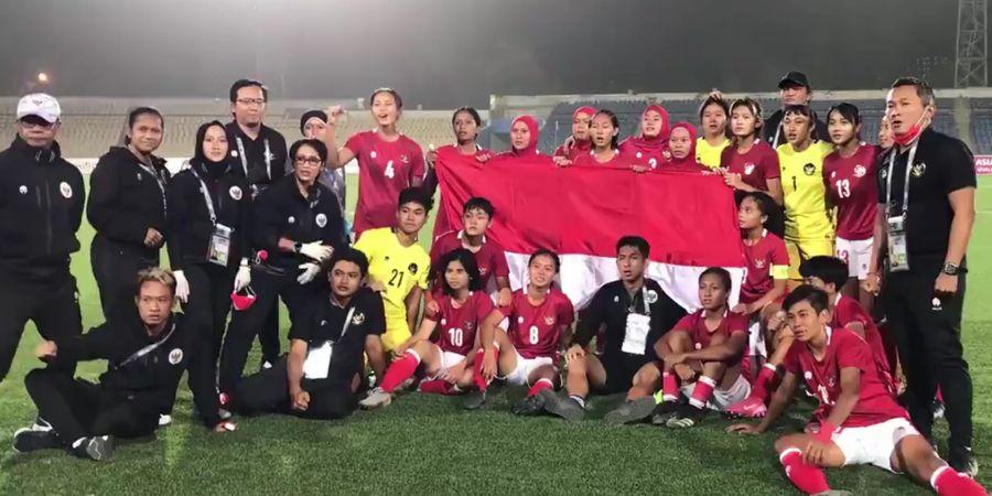 Masuk Pot 4, Timnas Wanita Indonesia Hadapi Tantangan Berat di Piala Asia 2022