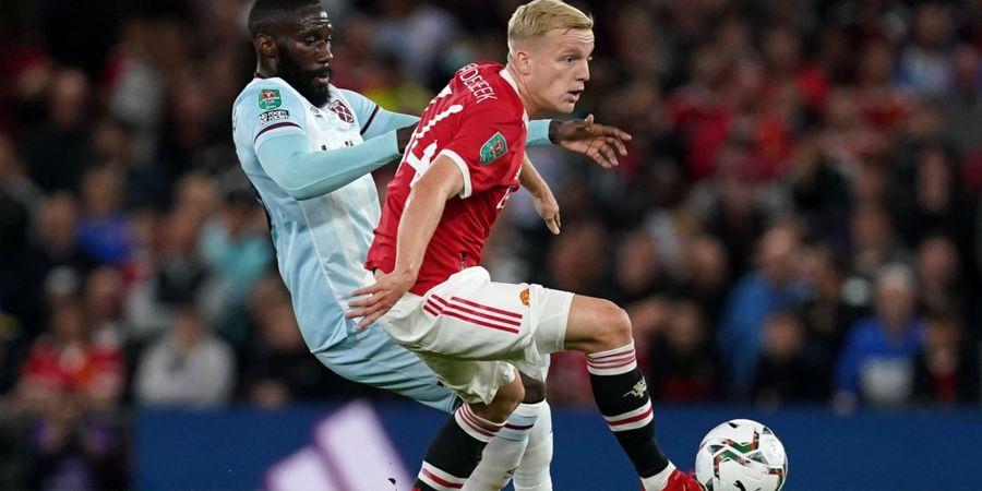 Ngebet Pindah dari Man United, Donny van de Beek Sampai Ganti Agen