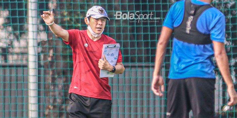Lawan Taiwan yang Pincang, Shin Tae-yong Geber Latihan Intensitas Tinggi tapi Tak Beri Taktik untuk Pemain Timnas Indonesia