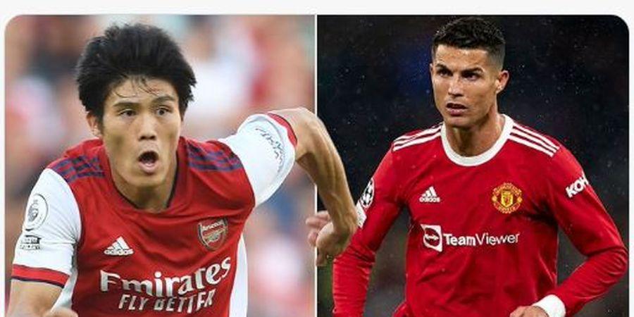 Jadi Idola Baru, Bek Anyar Arsenal Ternyata Punya Kemiripan dengan Ronaldo