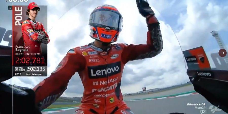 Hasil Kualifikasi MotoGP Amerika 2021 - Kalahkan Raja Sirkuit, Murid Valentino Rossi Pole Position Lagi