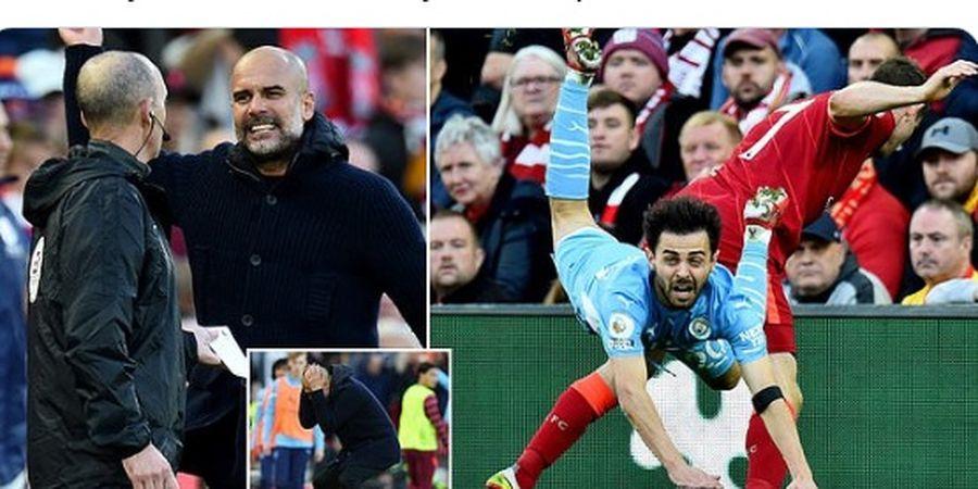 Bisa Bermain dengan 11 Orang Sampai Laga Usai, Liverpool Diselamatkan Anfield