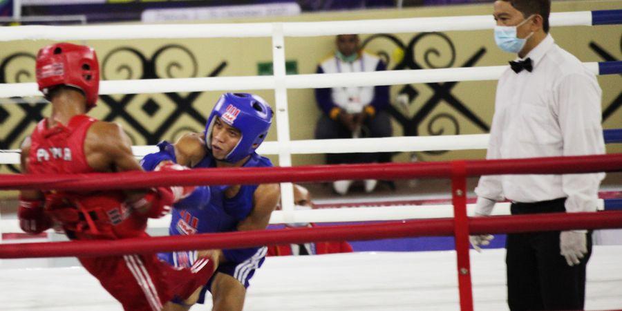 Cuma Bawa 7 Atlet, Sulawesi Utara Rebut 4 Medali Muay Thai di PON XX Papua 2021