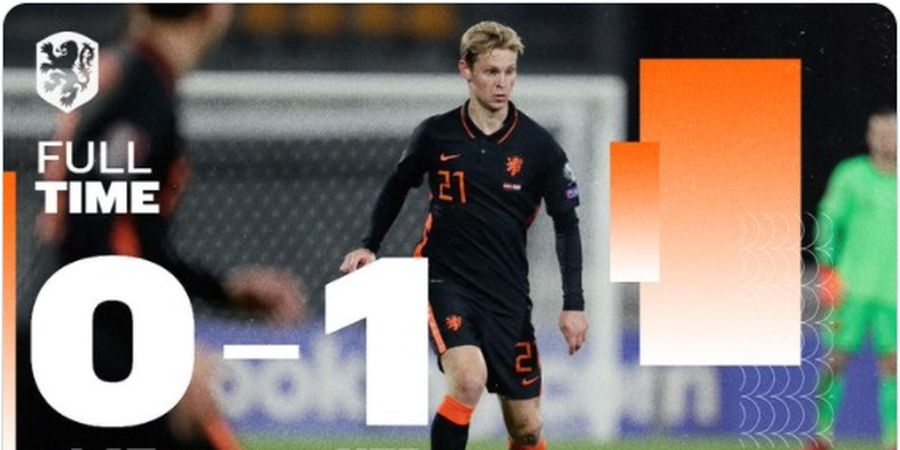 Hasil Kualifikasi Piala Dunia 2022 - Memphis Depay Mandul, Timnas Belanda Menang Tipis atas Latvia