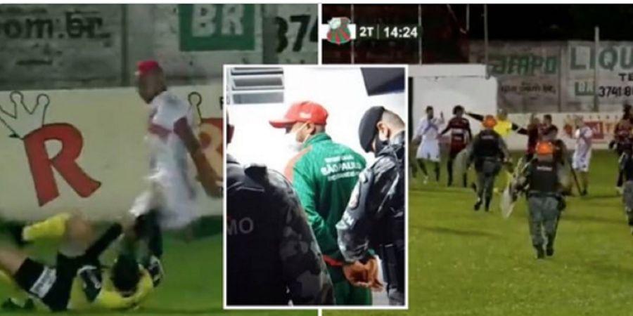 Tendang Kepala Wasit sampai Bikin Pingsan, Pemain Brasil Didakwa Lakukan Percobaan Pembunuhan