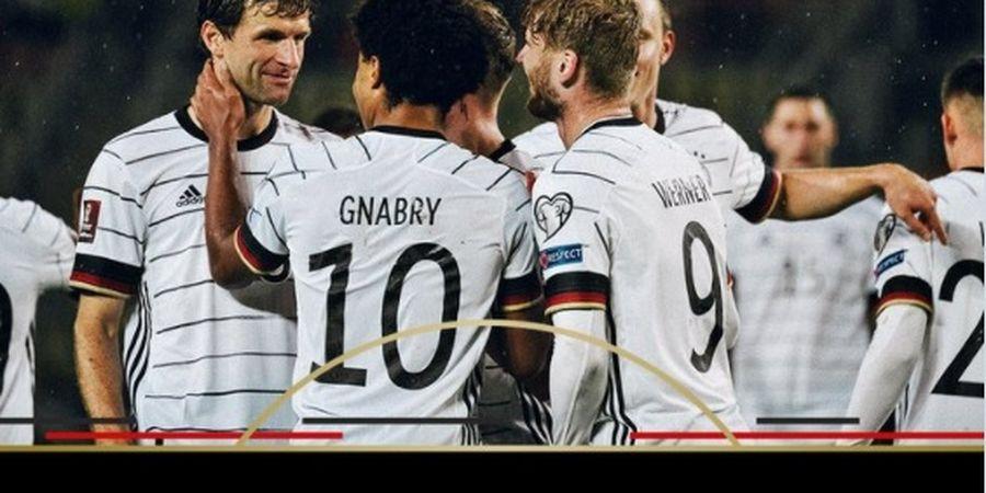 Hansi Flick Samai Rekor Seniornya, Timnas Jerman Jadi Tim Pertama yang Tembus Piala Dunia 2022
