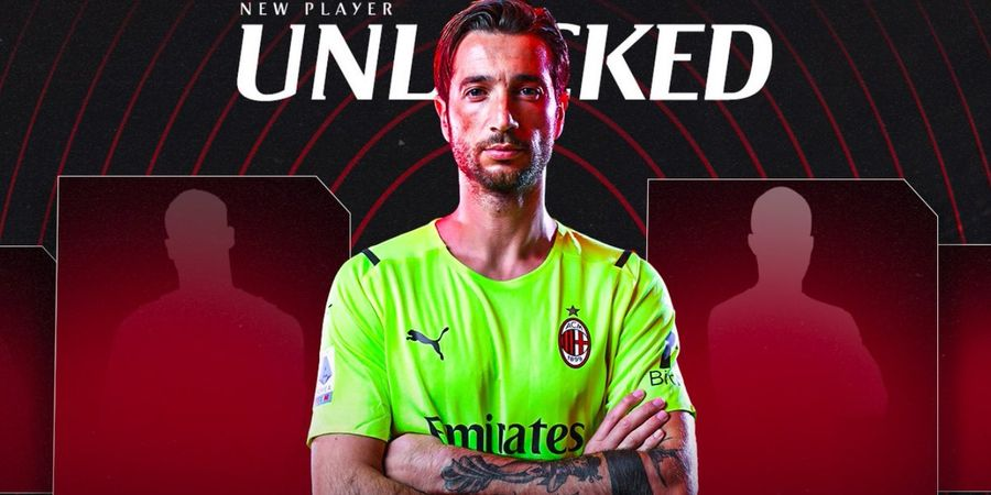 AC Milan Terpaksa Rekrut Kiper Darurat Gara-gara Penalti Mohamed Salah