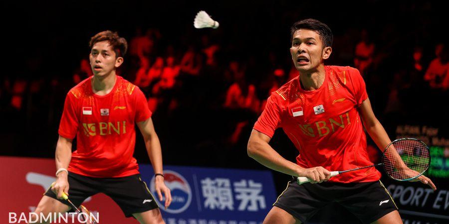Hasil Thomas Cup 2020 - Permalukan Tuan Rumah, Fajar/Rian Antar Indonesia ke Final