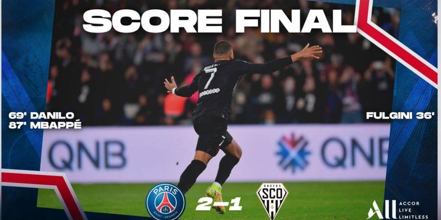 Hasil Liga Prancis - Tanpa Messi dan Neymar, PSG Butuh Penalti Mbappe Menit 87 untuk Kalahkan Tim Murah