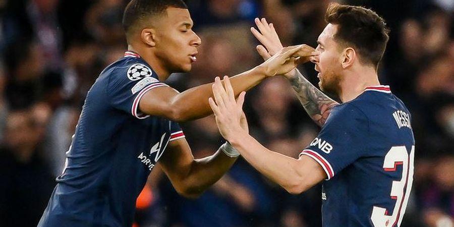 Beri Jatah Penalti ke Kylian Mbappe, Lionel Messi Gagal Ancam Rekor Cristiano Ronaldo