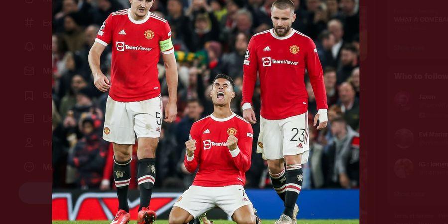 Teriakan Kelegaan Cristiano Ronaldo, Ungguli Messi dan Makin Jadi Raja di Liga Champions
