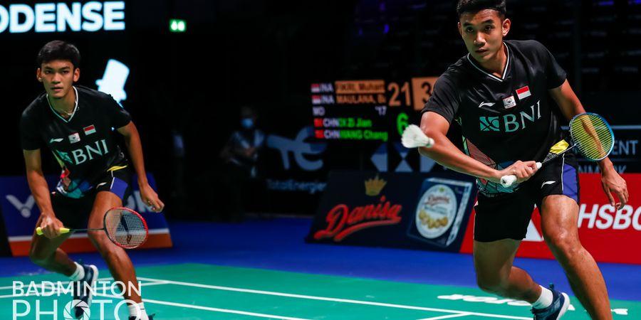 Link Live Streaming Denmark Open 2021 - Ada Derbi Indonesia, Ganda Putra Amankan Tempat di Perempat Final