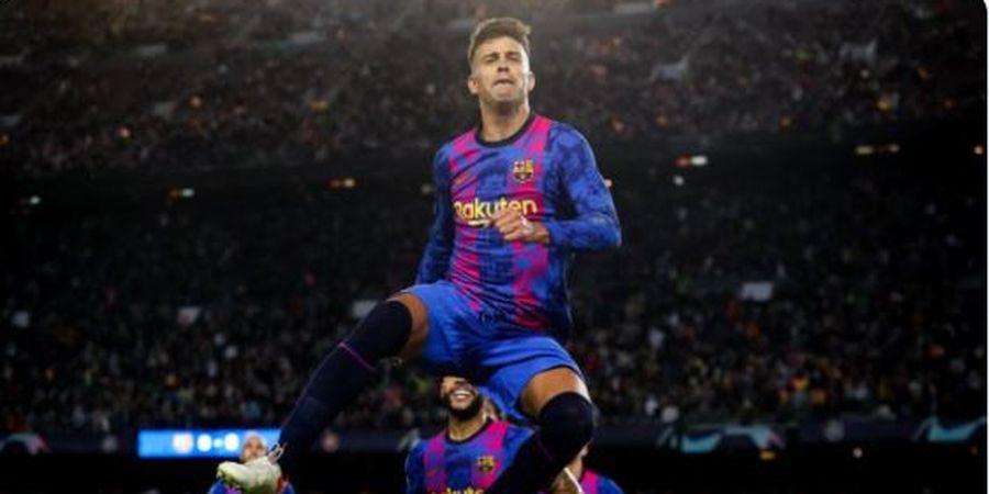 Hasil Liga Champions - Koeman Ubah Pique Jadi Striker dan Cetak Gol, Barcelona Tak Lagi 0 Poin