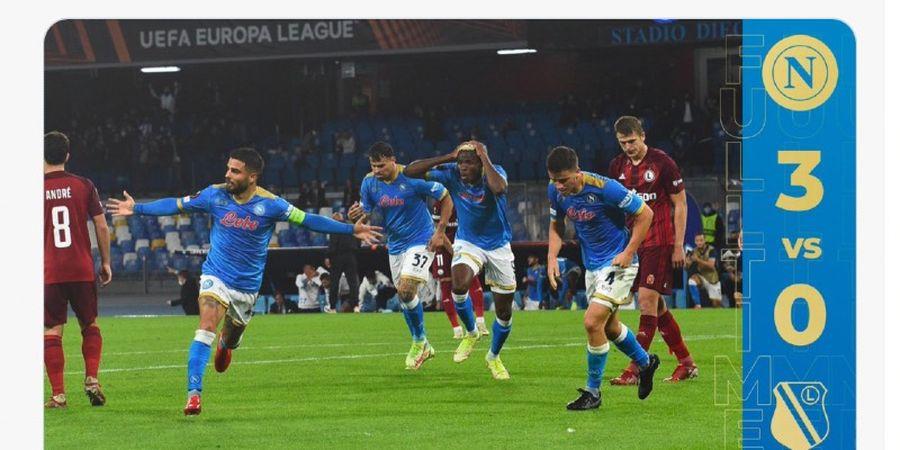 Hasil Lengkap Liga Europa - Pemuncak Klasemen Liga Italia Perkasa Atasi Jawara Polandia