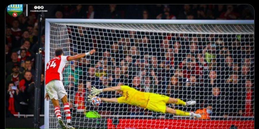 Mulut Besar Dibungkam, Kiper Jagoan Lionel Messi Dicemooh Fans Arsenal karena Gagal Pengaruhi Aubameyang