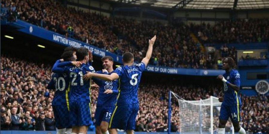 Hasil dan Klasemen Liga Inggris - Chelsea Kedinginan di Puncak, Manchester City Naik ke Posisi Dua