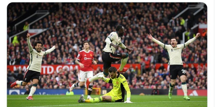Klasemen Liga Inggris - Man United Dipermalukan Liverpool, West Ham Merangsek ke 4 besar