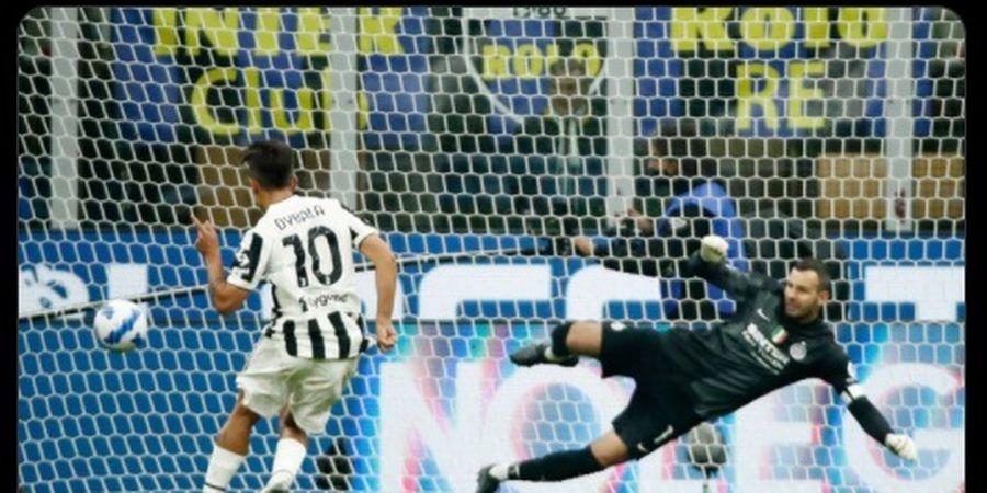Hasil Liga Italia - Gol Menit 89 Kompatriot Lionel Messi Selamatkan Juventus di Rumah Inter Milan