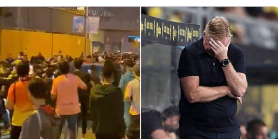 Mobilnya Dikepung Setelah Barcelona Kalah di El Clasico, Ronald Koeman Singgung Masalah Sosial