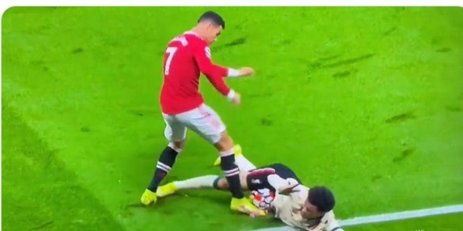 Cristiano Ronaldo Bisa Dapat Kartu Merah, tapi Bukan karena Tendang Perut Curtis Jones