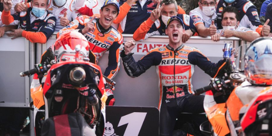 Akhirnya Menang di Sirkuit Kanan, Marc Marquez Puas Rebut Kemenangan di MotoGP Emilia Romagna