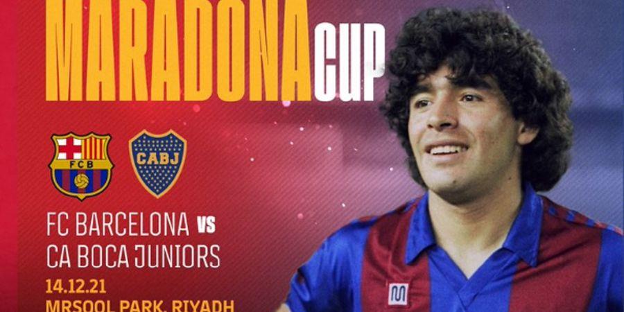 Kenang Diego Maradona, Barcelona dan Boca Juniors akan Berduel di Arab Saudi