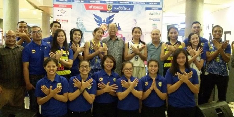 Tim Basket Putri Merpati Bali Ingin Juara Seri 1 di Kandang Sendiri