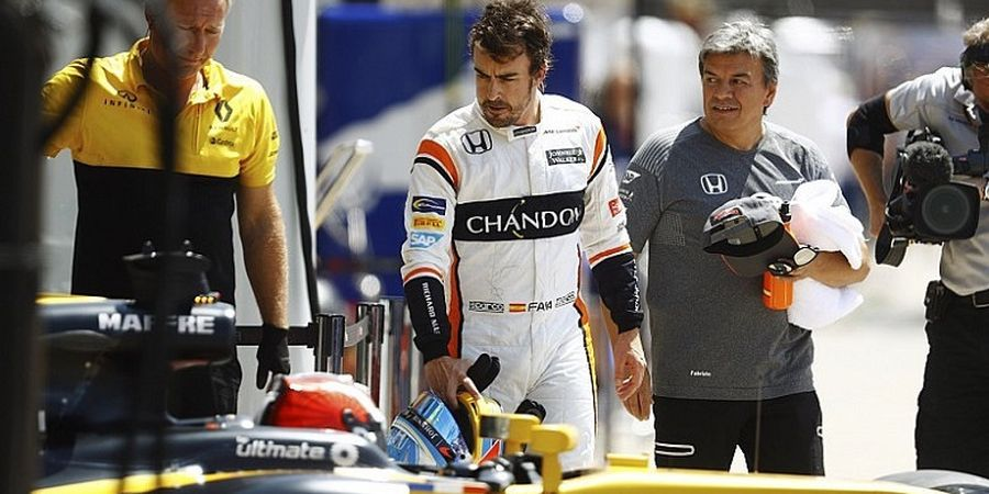 Fernando Alonso Memilih Setia dengan McLaren