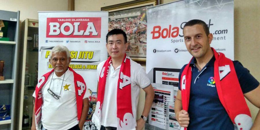 Membawa Ilmu La Liga ke Indonesia, Hugo Blanco Jawab Klub Jagoannya
