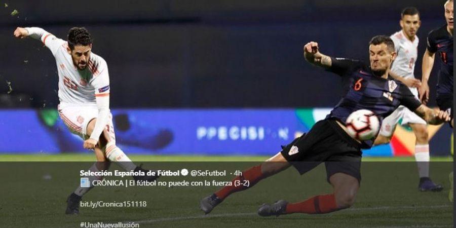Para Jagoan Piala Dunia 2018 Raih Hasil Antiklimaks di UEFA Nations League