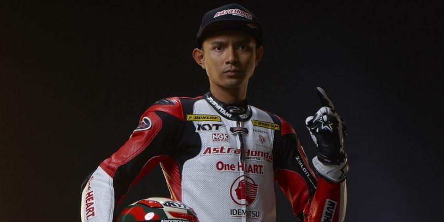 Dimas Ekky Gagal Finis dalam Debutnya di Moto2