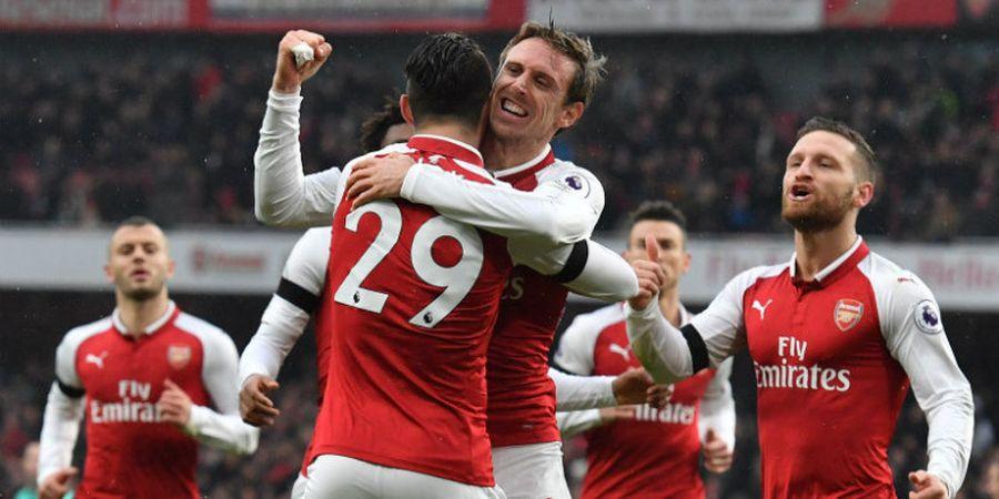 Arsenal Vs Everton - Stadion Emirates Selalu Angker Setiap Februari