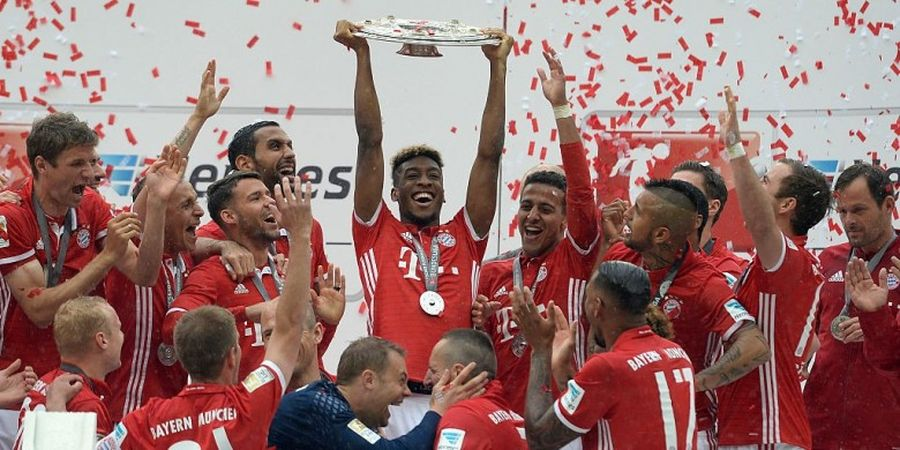 Preview Bayern Muenchen 2016-2017, Tradisi Kuat Juara