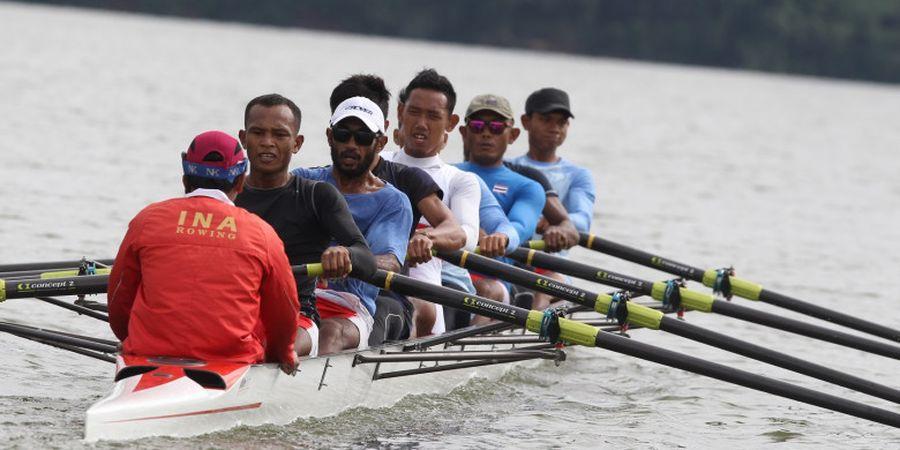 Dayung Asian Games 2018, Ujian Pertama di Sydney