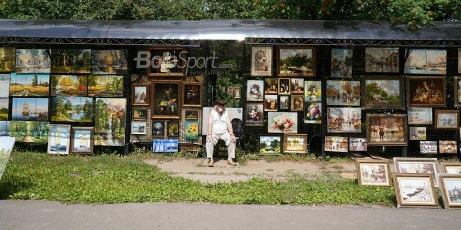 Pasar Izmailovo, Surga Pencinta Barang Antik