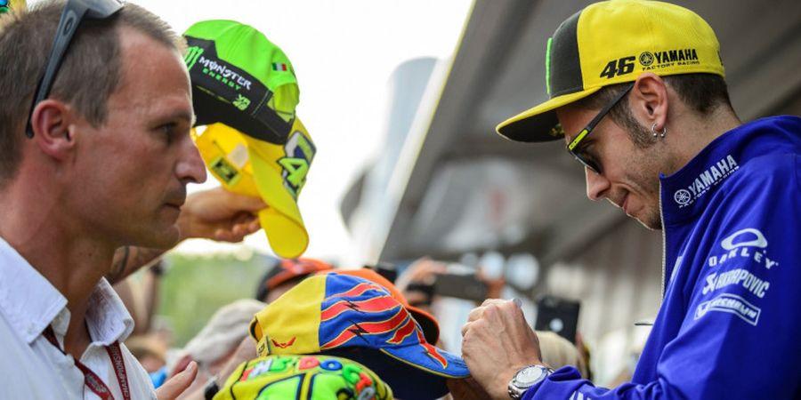 Gagal Raih Posisi Start Bagus pada GP Austria, Valentino Rossi Salahkan Ban
