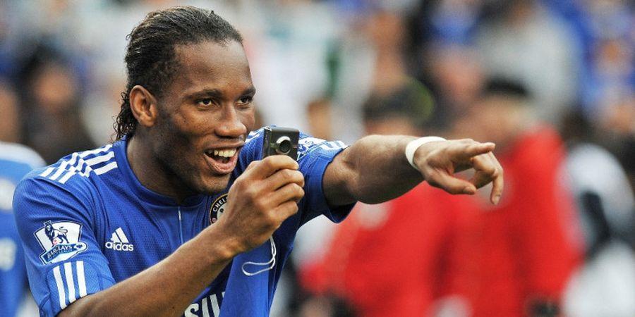Nasihat Didier Drogba Bikin Romelu Lukaku Sukses Cetak Gol