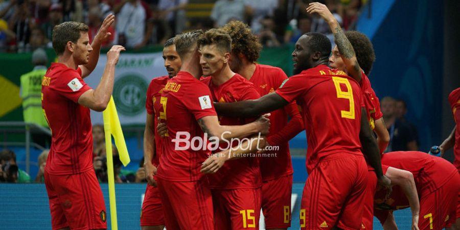 Hasil Piala Dunia - Taklukkan Brasil, Belgia Tantang Prancis di Semifinal