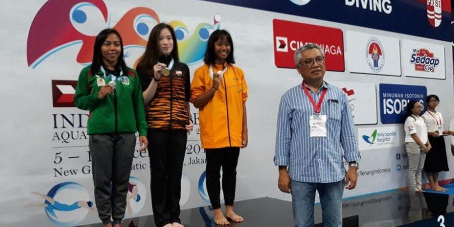 Indonesia Raih Emas Pertama Test Event Aquatic dari Cabang Loncat Indah