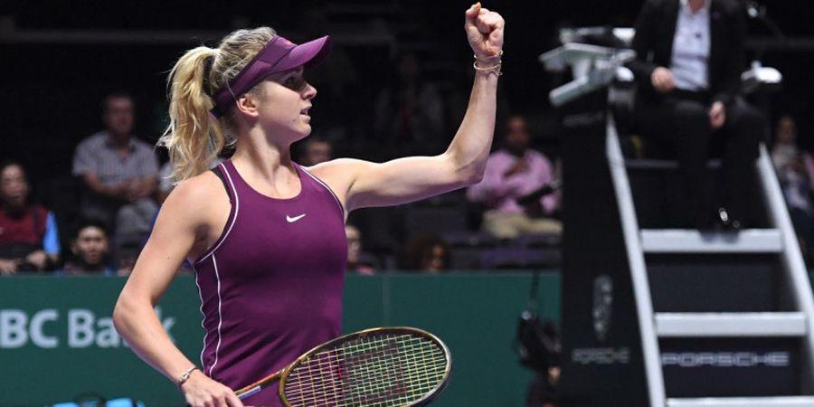 WTA Finals 2018 - Elina Svitolina Enggan Main 3 Set Lagi