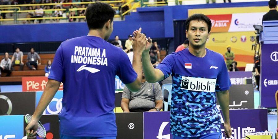 Ahsan/Angga Juga Menang, Indonesia Ungguli China 2-0