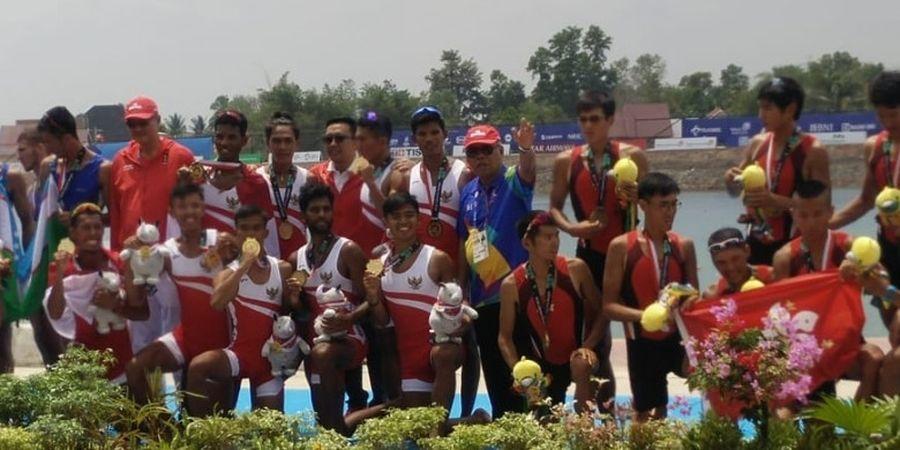 Rowing Asian Games 2018 - Dapat Medali Emas, Indonesia Cetak Sejarah Baru di Cabor Dayung