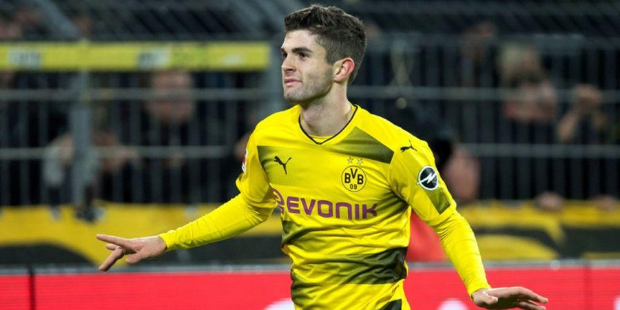 Pulisic Berharap Dortmund Juara Bundesliga di Pekan Pamungkas