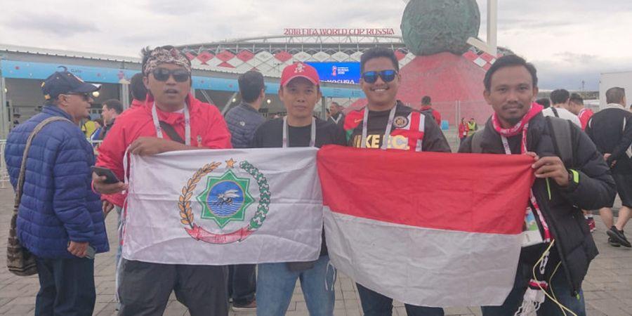 Warga Indonesia di Spartak Stadium: Semoga Kolombia Bertahan di Piala Dunia!